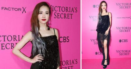 台灣天后蔡依林「華人首位被邀請的女星」出席維密時尚秀,性感逆天長腿氣勢可PK超模!