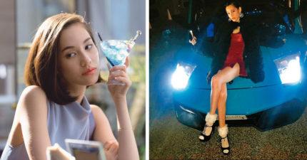 水原希子聖誕PO藍寶堅尼照片,眼尖網友祝福:「終於承認男友了!」