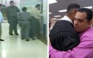 心理創傷退伍軍人被叛關監獄,晚上拍到「法官悄悄的去他牢房」超感人!