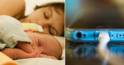 護士警告:「千萬別讓寶寶靠近手機!」 邊「充電」邊當低頭族...會害慘你的孩子!