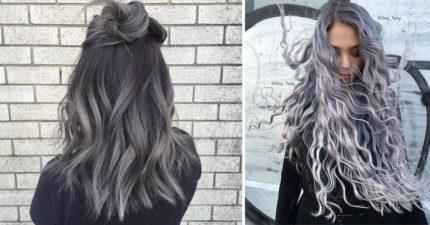 10個讓你變成冰雪美人的「浪漫銀灰髮」,#4魚骨辮超美!
