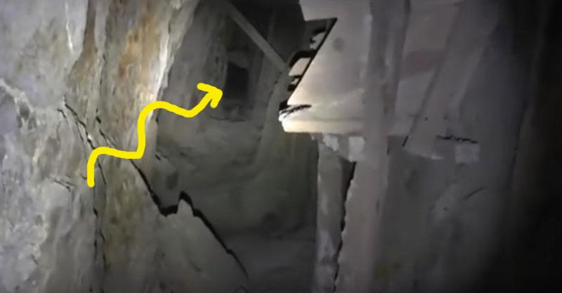 男子走進被遺棄的礦場,21秒時聽到深處有「惡魔吟誦」的聲音...