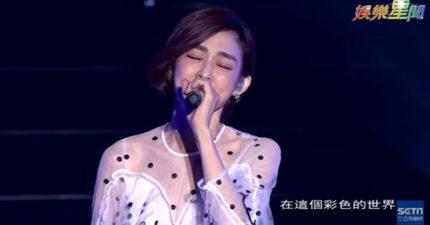 范瑋琪久違開唱「黑白配」陳建州台下甜笑放閃,上台後跟粉絲宣布「天大喜訊」!(影片)
