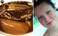 24歲年輕媽媽「不慎跌入巨大巧克力池」死亡,目擊者說:「只剩下腿而已...」
