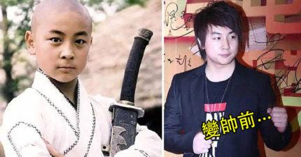釋小龍長大後都被虧「童年崩壞」長歪,但現在「帥回來」變成韓國歐爸又迷死一票女孩了!