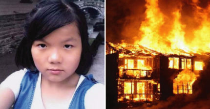 14歲女孩衝回火場「救不能走的爸爸」全身80%被火紋身 網友「捐100萬」:回來上學吧!