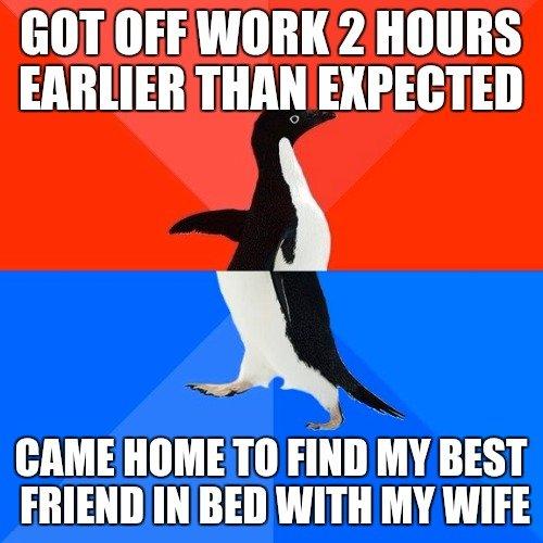 提早下班撞見「兄弟跟老婆在床上熟睡」原本應該人神共憤,兄弟「超可愛反應」讓網友力挺!
