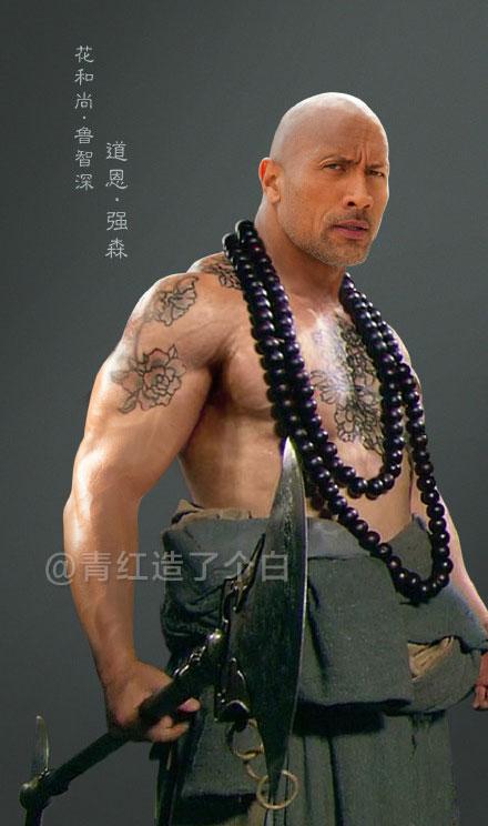 32個被變成了《水滸傳》好漢的最天菜好萊塢巨星!「洛基」湯姆·希德斯頓扮演西門慶也太完美了!