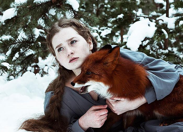10張從童話世界墜入凡間的「紅髮狐狸精美女」絕美夢幻照。#4美到不可思議!