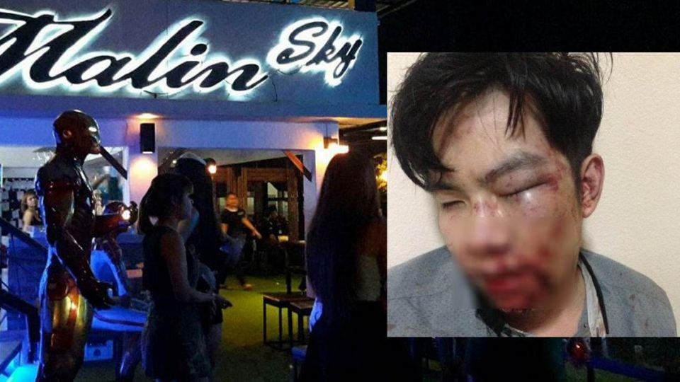 酒吧老闆暴打23歲男大生還嗆「我是明星老公!」,7天後酒吧「慘消失」只剩一片空地…
