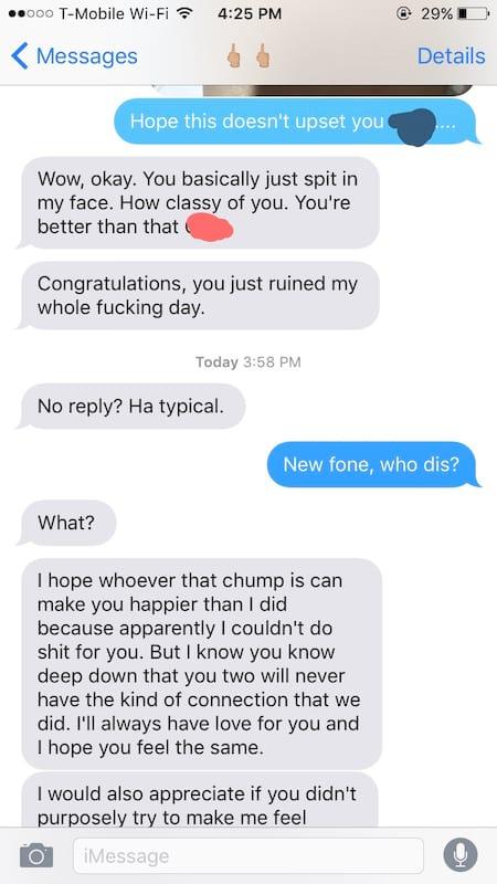他為了讓前女友吃醋「不小心傳新女友合照」,結果前女友「回傳更閃照」讓他崩潰到想死...