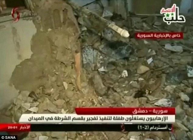 「7歲敘利亞女童淪為炸彈客」走進警局瞬間爆炸,女童最後身影令人鼻酸...