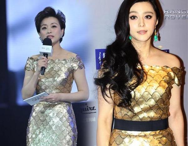 10張證明「撞衫容易撞胸難」的超爆笑「亞洲女星撞衫PK特輯」。#10就是女星的惡夢!