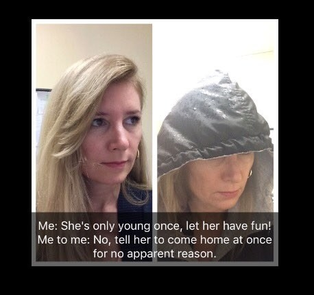 Hannon told BuzzFeed News that she hadn't expected her 50-year-old mom to respond with a homemade evil Kermit meme because Cheryl was at work at the time.
