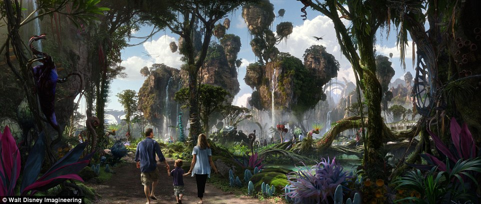 迪士尼《阿凡達》潘多拉主題區即將開放!比電影還美「漂浮的小島」會讓你馬上訂機票!