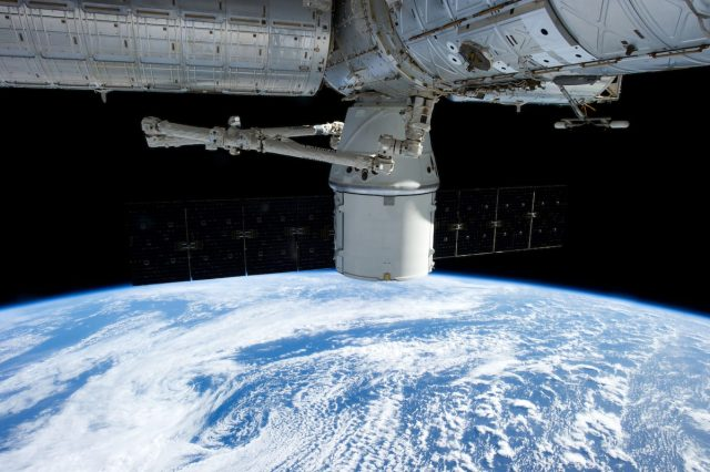 63780UNILAD imageoptim spaceship above the earth 640x426 Astronauts In Space Terrified By Mysterious Unexplained Knocking Sound