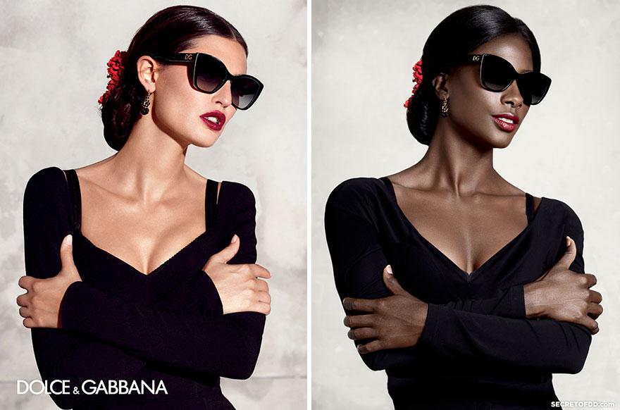 9張黑人模特兒「重拍」各大品牌的宣傳照,讓人發現時尚界最大問題!