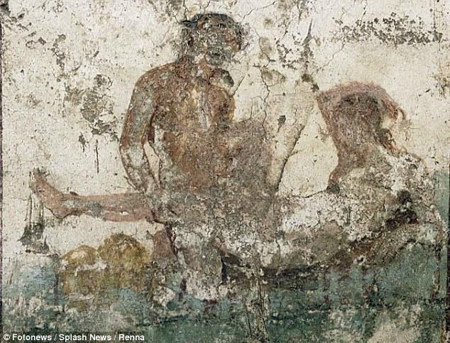 龐貝妓院遺址「千奇百怪愛愛奇招壁畫」當時還用來當目錄,頭髮顏色辨別「類別」!