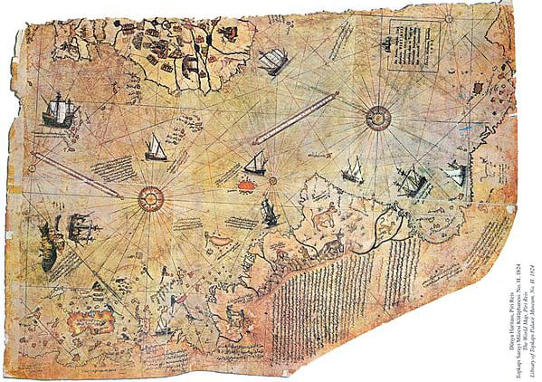 55132UNILAD imageoptim Piri reis world map 01 Theory Claims Theres A Lost Frozen City Under Antarctica