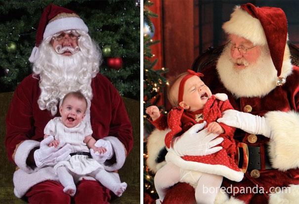 21張小孩子過聖誕節的「期望vs.現實」爆笑比較照片!