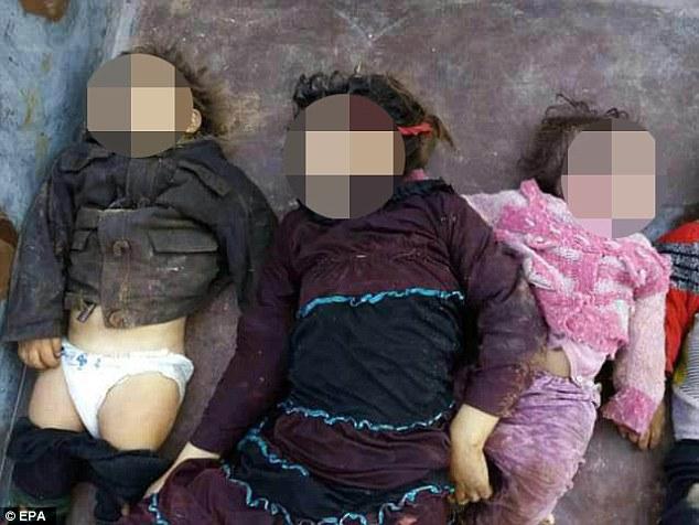 敘利亞內戰空襲「小孩屍橫遍野」照片血腥無比,「超可怕氣體」讓人口吐白沫形如「屠殺」...
