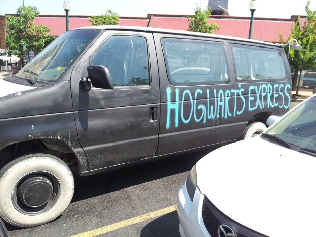 This new version of the Hogwarts Express: