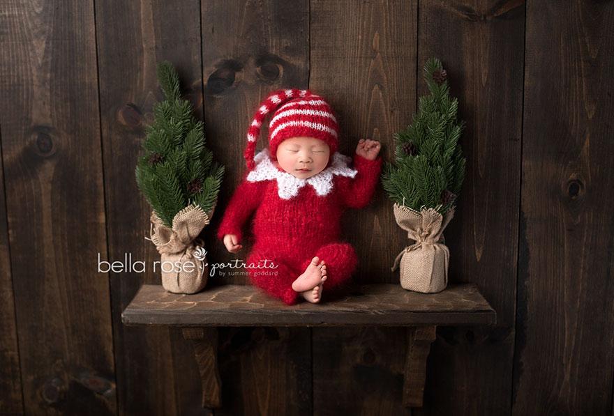 30張萌力無敵大爆發到你無法招架的「超可愛聖誕寶寶照」。