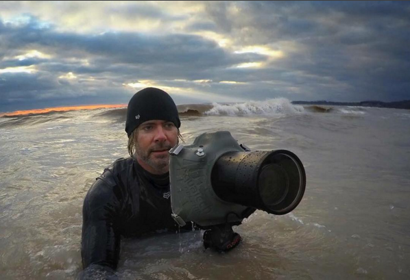 """Dave Sandford has always been drawn to the water. """"From my early childhood, I've always had a fascination with oceans and lakes, and the creatures that live within them,"""" he told BuzzFeed Canada."""