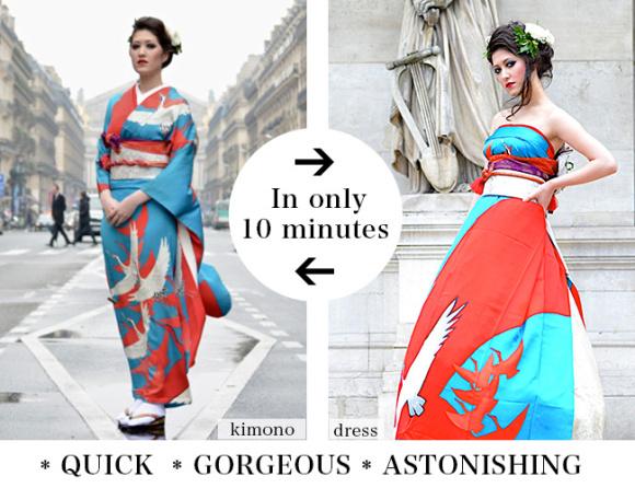 13款「會讓你懷疑為什麼要穿西方傳統白婚紗」的更美日本復古和服婚紗,#7還有歐洲背景超狂野!