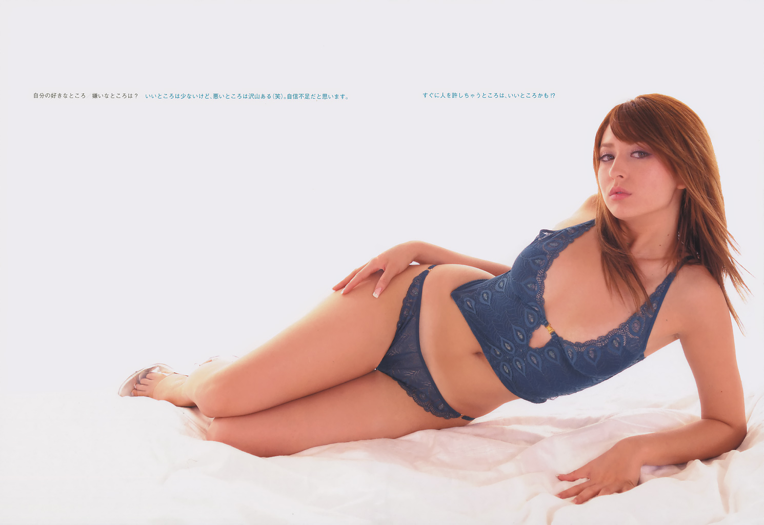 混血女神莉亞迪桑拍攝「睽違10年性感寫真」,現在30歲火辣程度又大大升級了!
