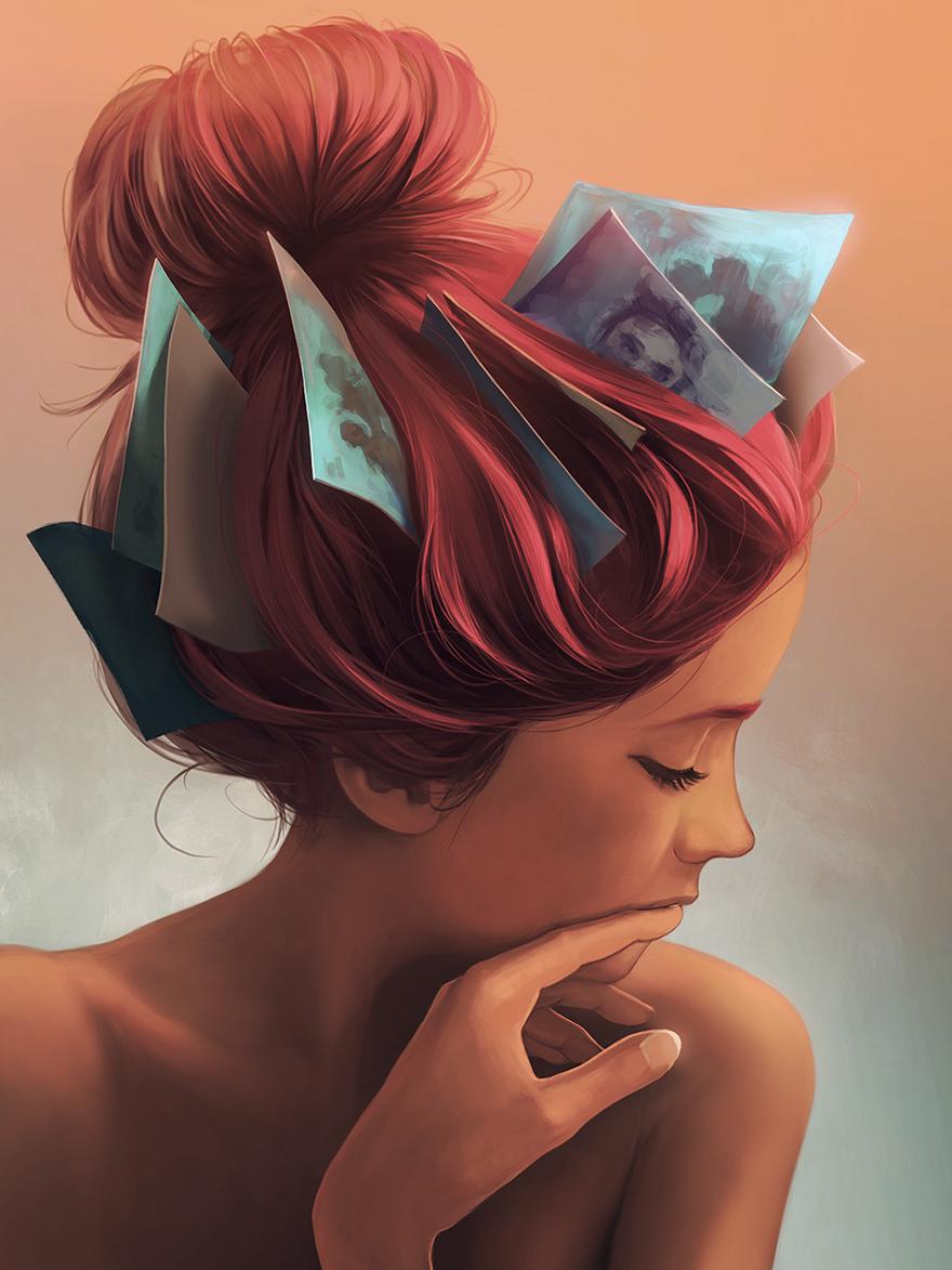 36張有智慧的人才能看懂的「宮崎駿風格」心靈深度插畫