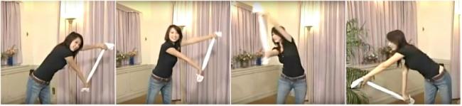 爆紅超神動作「只要一分鐘」就可以訓練出「火辣人魚線」!只要「一條毛巾」就能燃燒腰部脂肪!