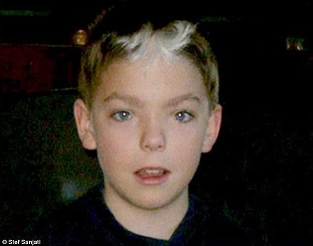 The 20-year-old (pictured as a young boy) said she felt that after many years,'it is time for me to undertake my gender confirming surgeries'