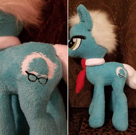This My Little Pony: Friendship Is Magic Bernie Sanders doll.