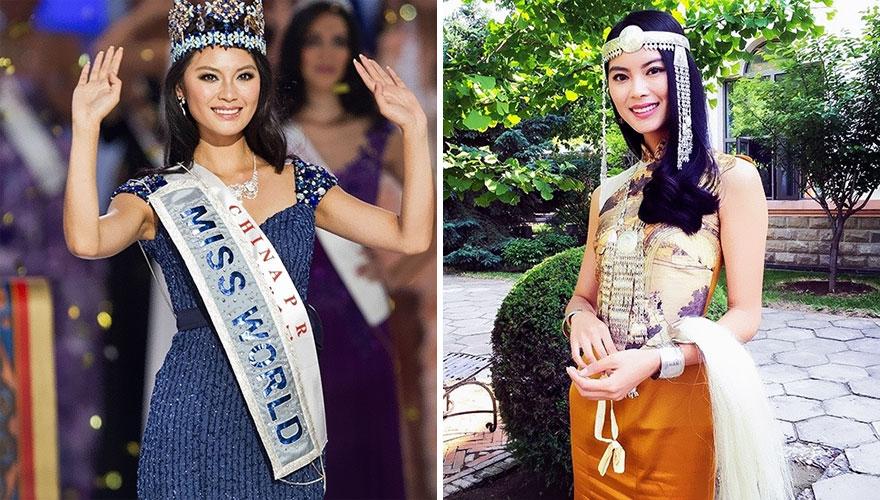 20名選美皇后「比伸展台上還美」的日常照片。#11真正的「剛起床素顏照」正翻!