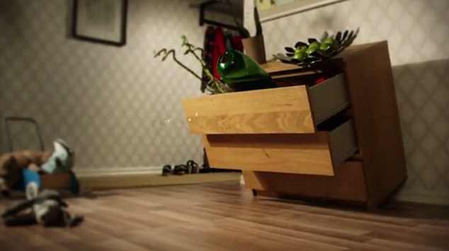 Danger: Ikea released an awareness-raising video in 2015 featuring a Malm (pictured), which was liable to tip over, but it only recalled the items six months ago