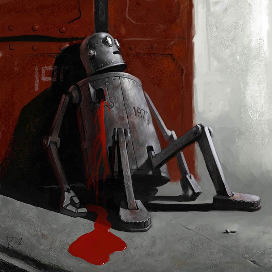 26張第一眼就會讓你「感到超羞愧」的黑暗諷刺插畫!