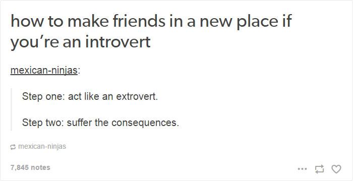 15個會讓外向者終於理解的「內向者人生問題」。#2內向者的宿醉是像這樣...