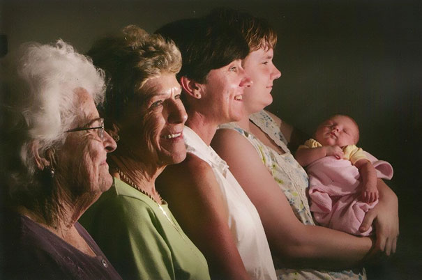 Five Generations Of Ladies