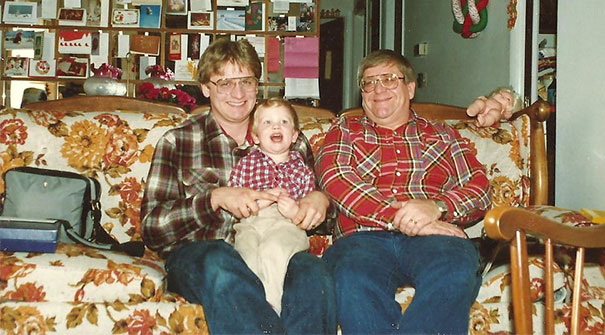 Three Generations Of Giant Nerds Ca 1988