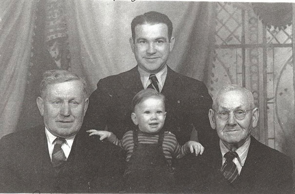 A Four Generation Picture Taken Around 1948