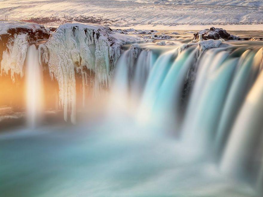 Goðafoss (Waterfall of the Gods)