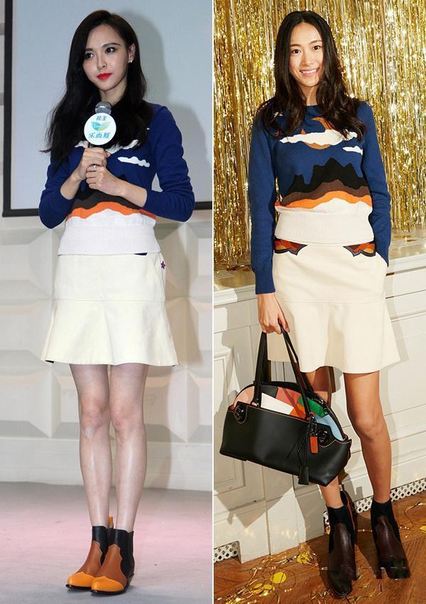 10張證明「顔值決定一切」的超爆笑女星撞衫特輯 IU不管穿什麽都超正!