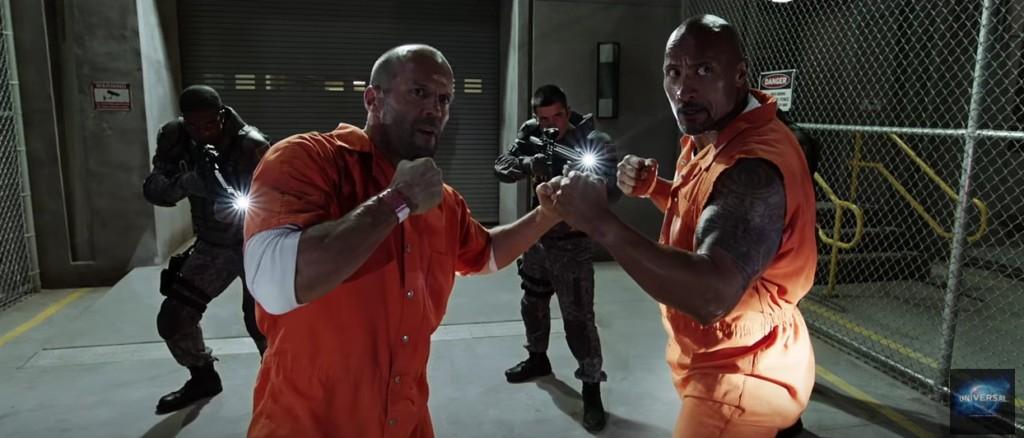 《玩命關頭8》預告片出爐,史塔森與巨石強森加入團隊一起「對抗反派唐老大」!