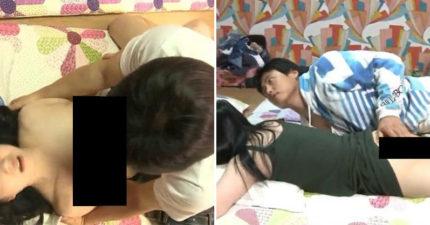 韩国19禁深夜节目超越极限!咸湿巨乳正妹「先爱爱后配对」满意再带回家!