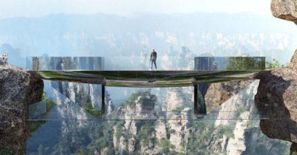 中國宣布砸下1億打造張家界「超狂全透明天空步道」,「無空間無障礙狀態」進入《阿凡達》世界再也不是夢!