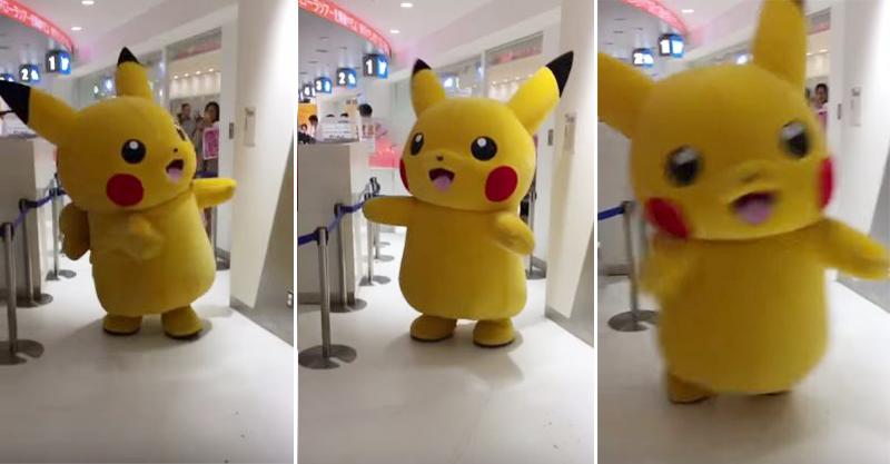 日本網友捕獲「巨型野生皮卡丘」,首次真實世界使出「高速移動攻擊」萌到你爆!(影片)
