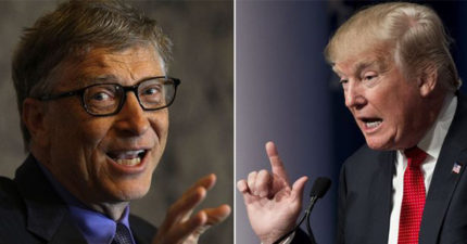 比爾蓋茲力挺川普「很創新」,說「他像甘迺迪總統」!