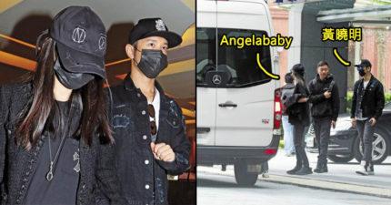 黃曉明、Angelababy爆密謀「在台生產」!來台被直擊探勘知名醫院!(7張)
