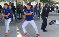 14歲被霸凌少年「拿刀砍同學」遭警射中倒地,爸爸:「認為他做錯的人是白痴!」